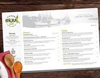 Page's Okra Grill | Dinner Menu