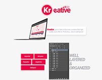 Kreative web ui kit