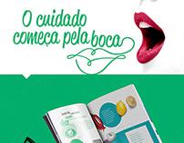Graphic Design_GALENA | O Cuidado começa pela boca