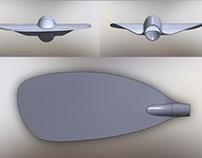 Adventure Technology Kayak Paddle Blade Design