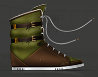 Burberry sneakers project (part 1)