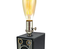 Computer Illustration Lamp