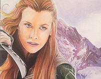Tauriel Commission 11 x 14
