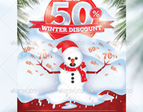 Winter Discount Flyer
