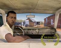 Menschen auf der Flucht (Show-Truck)