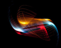 Lightpainting abstracts