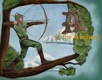 Alphabet Series Illustrations