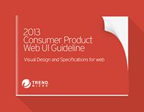 2013 Trend Micro Web UI Guideline 1.0