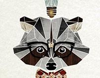 raccoon nerd