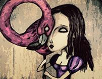 Pentagram & Flamingo