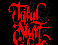 Fan Art / Tribal Calligraphy