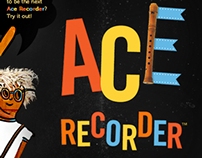 ACE RECORDER, iPHONE App