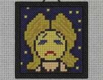 cross stitch art