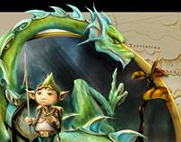 Dragon Fellow - The Garden of Heart Leaves