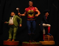 Zagor, Chico and Digging Bill