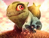 3D - Bulbasaur