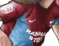 Scunthorpe United FC Caricatures 2012/2013