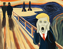 "The 5th version of ""The Scream"" #MunchContest"