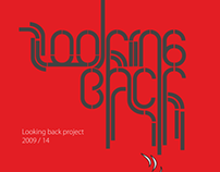 Looking Back 09/14 illustrations and typography