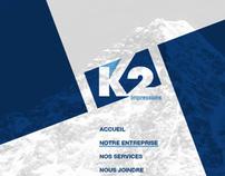 K2 impressions - Website