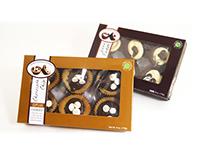Bakery Cupcake Cookie Package Design