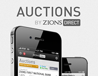 Auctions iPhone App