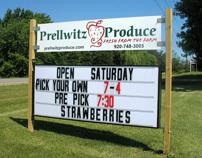 Prellwitz Produce Logo Redesign