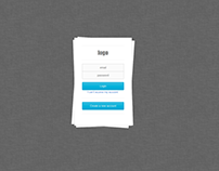 Login 1 sample Html5 And Css3