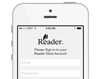 Sony Reader for iOS7