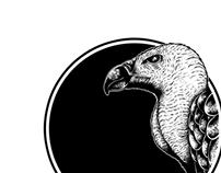 Vulture ( Artwork for CD insert band named BUNKERBOOB)