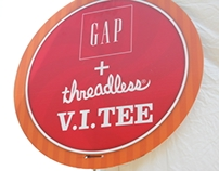GAP + Threadless Design Contest