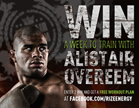 RIZE Energy + UFC Fighter Allistair Overeem