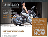 Chicago Motorcycle Show Website