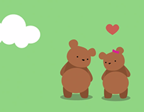 Bear Love Animation