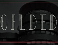 GILDED TYPEFACE