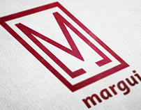 Margui Logo & Magazine Spread