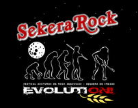 Sekera Rock - Imagen del festival, carteles, camisetas.