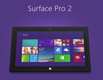 Microsoft Surface 2 animation