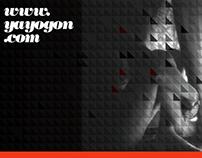 Sitio Web / Tarjetas personales: Yayogon - fotografía