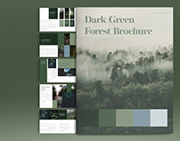 Green Brochure Layout