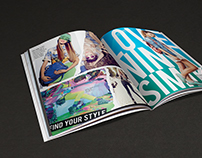 Catalog Design & Layout For Nina Simik Brand