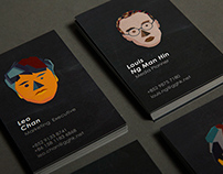 G Gaming ltd business card