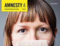 Amnesty Magazine redesign