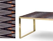DINING TABLES, MARTIN BROWN MOSAICS