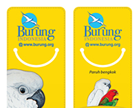 Bookmark Halmahera Bird Series