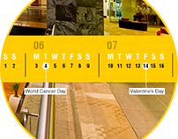 Murray & Roberts Desktop Calendar
