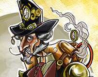 Don Quijote of Steampunk