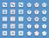 Web site - Part 1 : Icons design