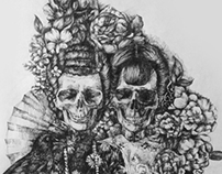 skull lady_twins