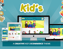 Kidshop – A creative Kid's ecommerce theme